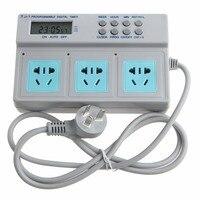 AU Plug Switch Timing Socket Highpower Microcomputer Control 3in1 Programmable Digital Timer Socket