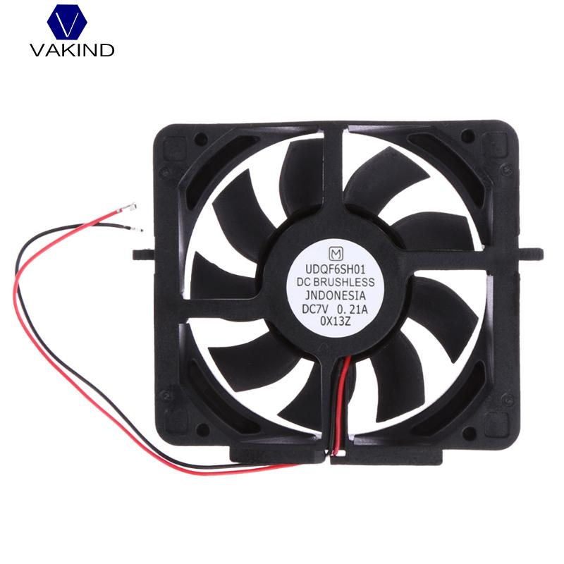 VAKIND DC 7V Internal Cooling Fan Mini DC Brushless Console Cooler Fan For Sony PS2 PlayStation Cooling Fan PS2 50000/30000 4pin mgt8012yr w20 graphics card fan vga cooler for xfx gts250 gs 250x ydf5 gts260 video card cooling