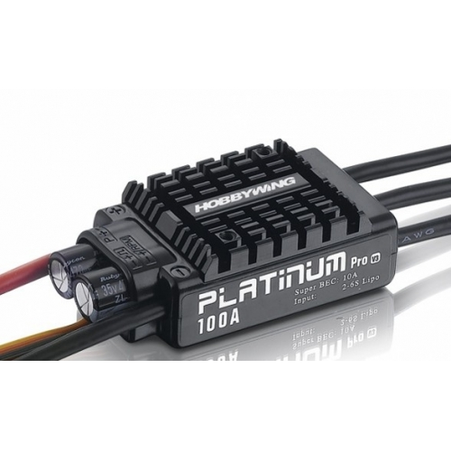 HobbyWing Platinum 100A V3 ESC Electronic Speed Controller Firmware Updatable