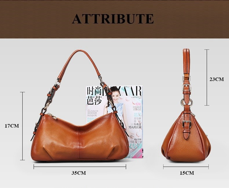 Ladies Handbags 2016 New Womens Bags And Purses Solid Women Leather Shell Bag Bags Zipper Retro Designer Handbags High Quality_034