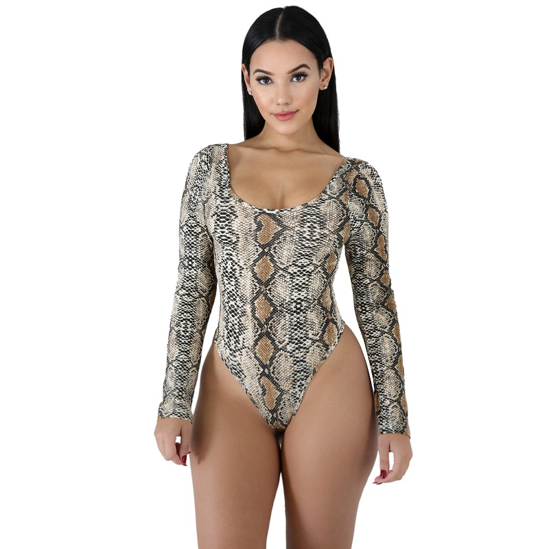 7cdd13aec8a Buy snake bodysuit and get free shipping on AliExpress.com