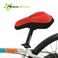 RockBros Sponge Pad Bike Bicycle Cycling Cycle Seat Cover Ventilate Soft Cushion Saddle Cover Bicycle Accessories