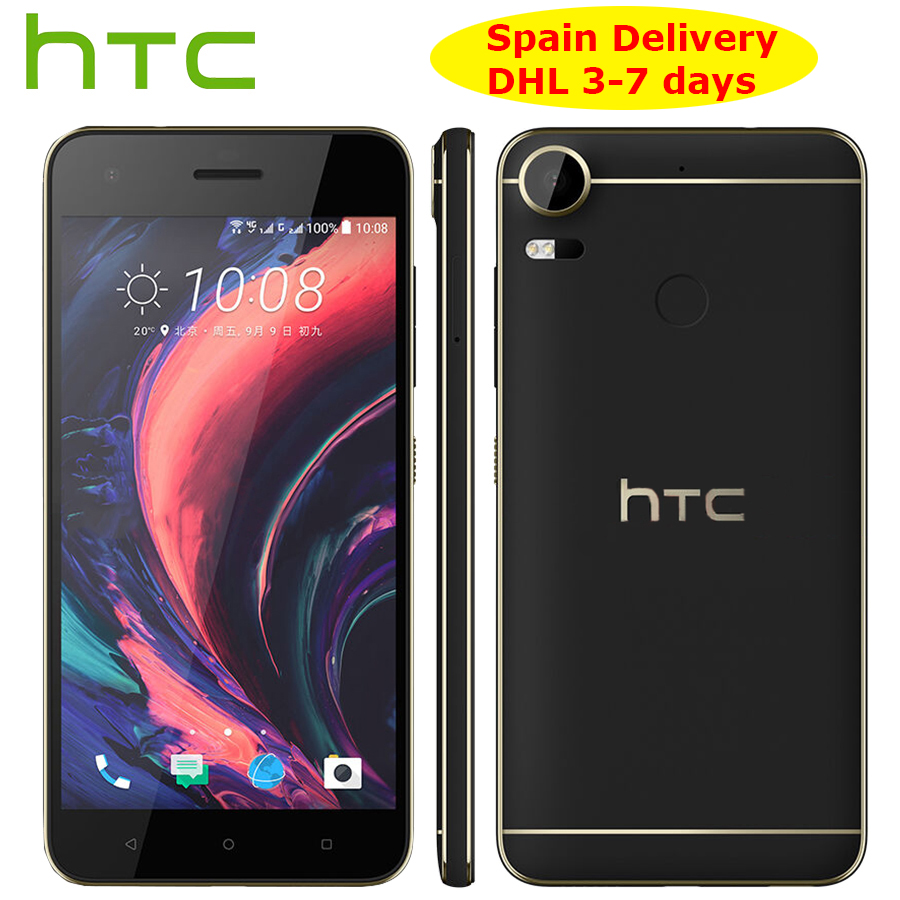 """Spain Delivery Original NEW HTC Desire 10 Pro 4GB 64GB 4G LTE Mobile Phone 5.5""""Octa Core Dual SIM 20MP 3000mAh Android Callphone-in Cellphones from Cellphones & Telecommunications"""