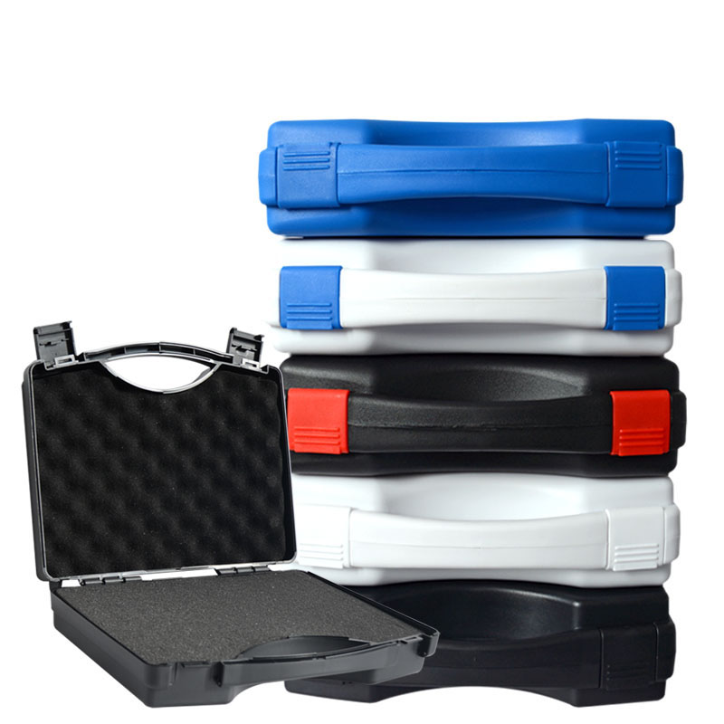 250x215x70mm Plastic Tool Case Suitcase Toolbox Impact Resistant Safety Case Instrument Equipment Box Camera Case With Foam