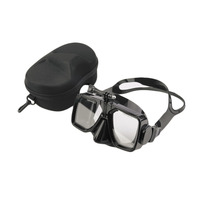 YHX Diving Mask Camera Mount Swimming Scuba Mask Diving Tempered Glass Goggles With Case Free Shipping