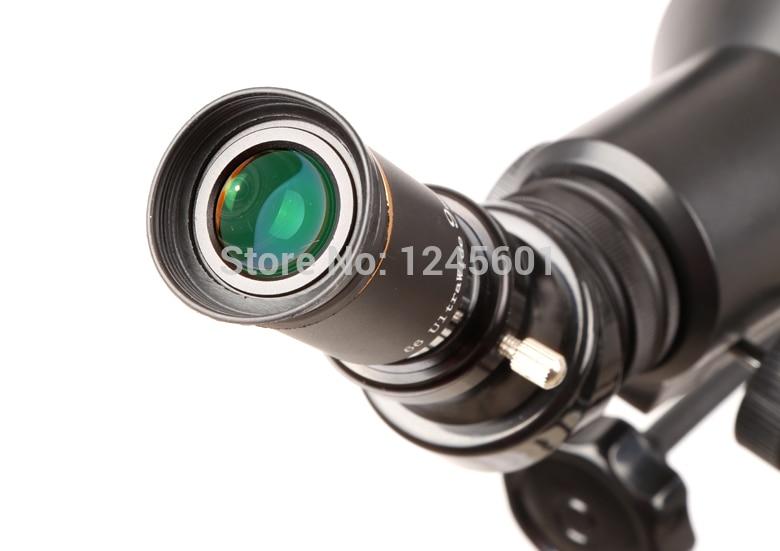 The telescope fully Multi Coated 66 degree ultra wide 9mm eyepiece lens  цены