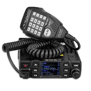 Retevis RT95 Mobile Car Radio Walkie Talkie VHF UHF Dual Band Two Way Radio 25W 200CH DTMF TFT LCD Display Ham Radio Amador+MIC - DISCOUNT ITEM  25% OFF Cellphones & Telecommunications