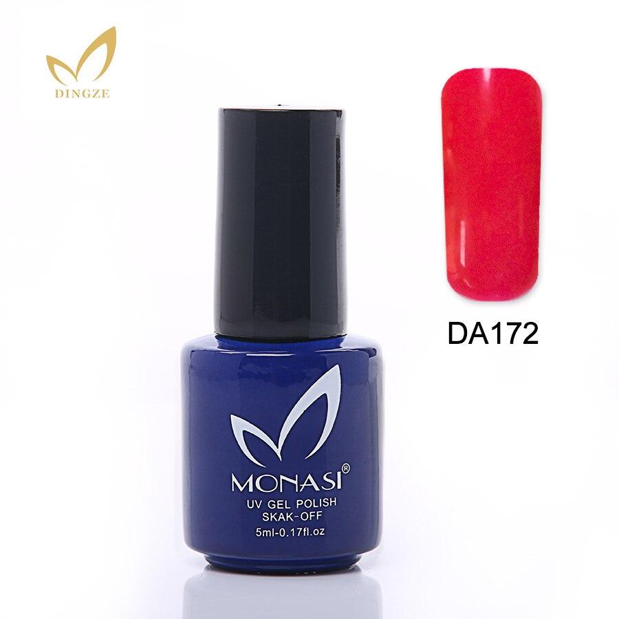 Monasi Glaze Glass Diamond UV Gel Gorgeous 18 Colors Pure Glaze UV ...