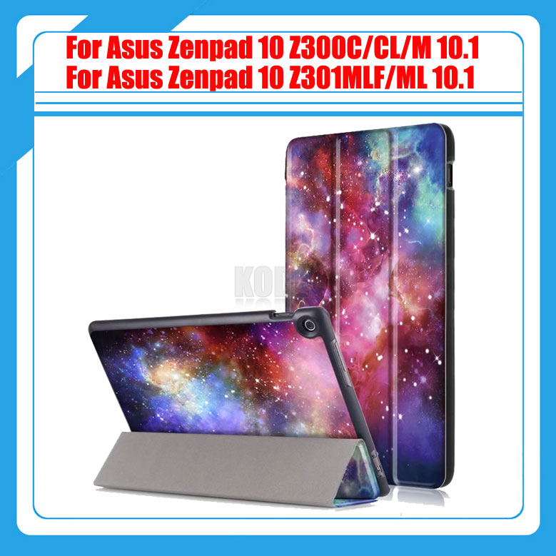 High Quality Printing PU Leather Cover Case For Asus Zenpad 10 Z300 Z300C Z300CL Z300M Z301MLF Z301ML Z301 10.1 Tablet + Gift 1pc high quality pu leather russian driver s license cover for car driving documents the cover of the passport bih002 pr49