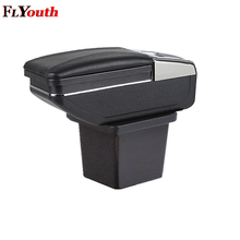 Car Armrest Box Content Interior Car-Styling Storage Center Console Decoration Accessory For Hyundai I30 2008-2013