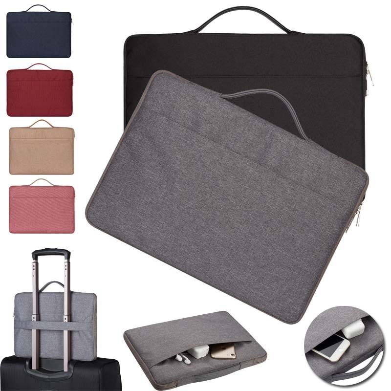 """KK&LL For 10"""" 11"""" 13"""" 14"""" 15"""" Tablet - Universal Carry Nylon Zipper Laptop Sleeve Pouch Case Bag"""