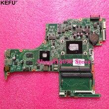 KEFU 809408-501 FOR HP PAVILION 15-ab series laptop motherboard DA0X21MB6D0 REV: