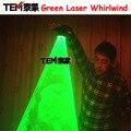 Бесплатная Доставка Зеленый Лазерный Вихрь Ручной Лазерный Пушки Для DJ Танцевальный Клуб Вращающиеся Лазеры Перчатки Свет Паб Партия Лазерное Шоу