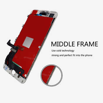 5PCS For AAA Quality Screen For iPhone 7 Plus LCD Screen With Good 3D Touch Digitizer Display Assembly Free Shipping DHL
