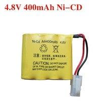 Free shipping 4.8V 400mAh AA 4 in 1 Ni-Cd battery set Huanqi RC Tank 508 550 RC Car HQ 611 605