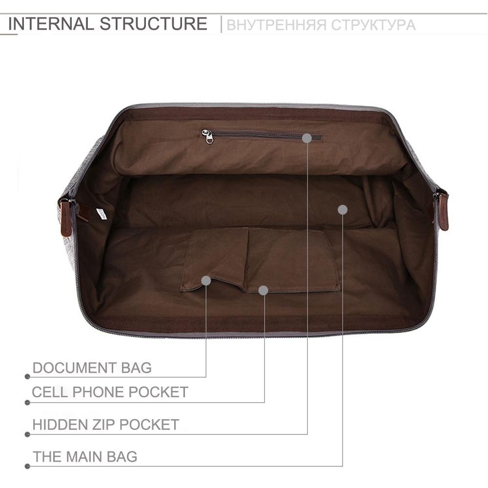 MARKROYAL Vattentät resväska Stor kapacitet Bär på väska Väska - Väskor för bagage och resor - Foto 3
