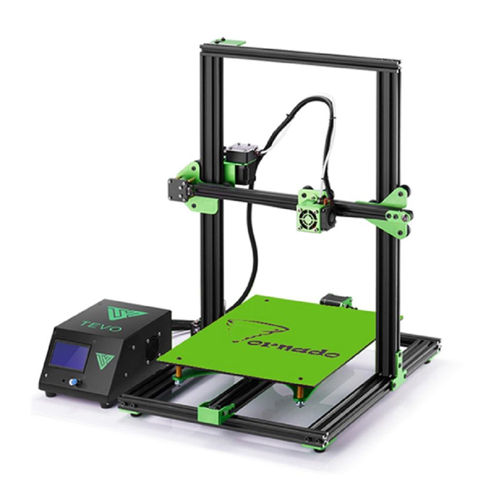 TEVO Tornado 3D Printer Most Assembled Full Aluminum Frame 3D Printer Larger Printing Area / Titan Extruder 110V/220V Printer