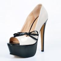 New Stylish Women Pumps Beautiful Platform Peep Toe Thin Heels Pumps High Quality Beige Shoes Woman