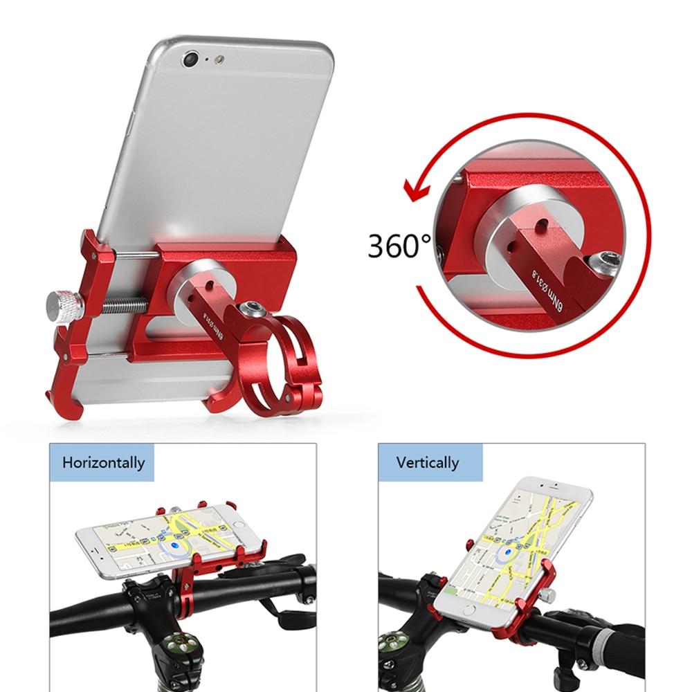 Le Jeune moderne.Accessoires-Support rotatif pour moto ou vélo en métal pour téléphone-Support pour moto ou vélo, en métal, pour téléphone portable. Axe rotatif pour une adaptation à une visualisation de GPS. Produit de très haute qualité en aluminium. Existe en plusieurs couleur. Fournis avec tout le système de fixation pour votre vélo ou votre moto. Lechargeur téléphone moto idéal.
