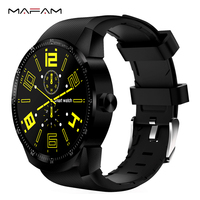 MAFAM K98H 3G Smartwatch 1 3 Inch Android 4 1 MTK6572A 1 2GHz Dual Core 4GB