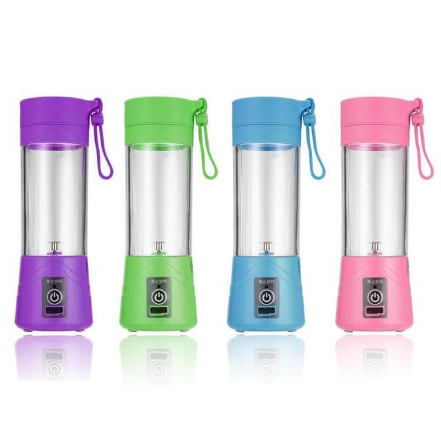 USB החדש 400 ml כוס מסחטה פירות ירקות בלנדר מיץ לסחוט חשמלי כוס 400 מל - משלוח חינם 2