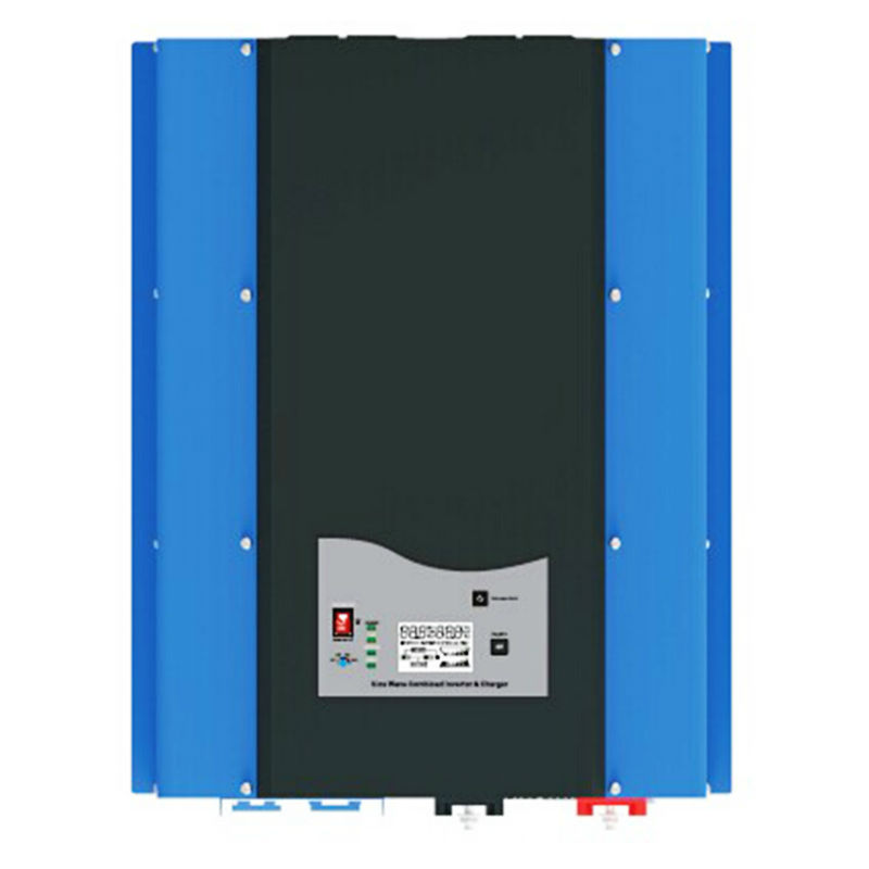 PSW7 8kW 96V 220vac/240vac DC to AC Power Inverter Pure Sine Wave 8000w Off Grid Solar Inverter Built in Battery Charger