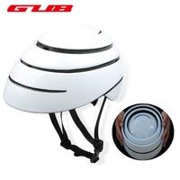 GUB Foldable City Leisure Road Bicycle Helmet EPS+ PC Casco Ciclismo Outdoor Sports Riding Cycling Folding Bike Helmet Sky Blue