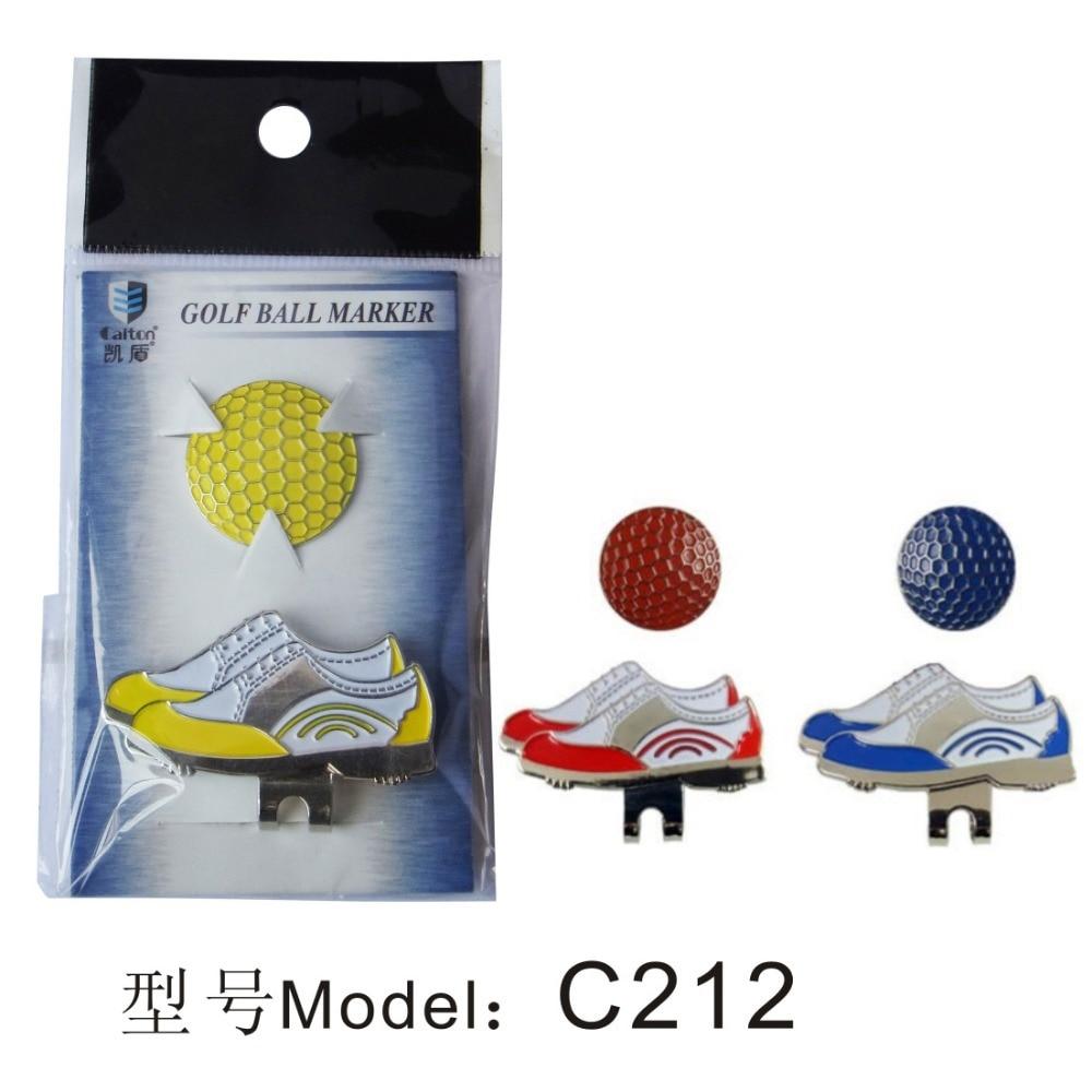 golf klobuk clip golf marker, čevlji slike
