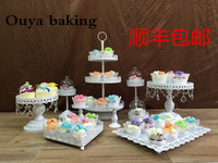 Removable White Iron Cupcake Display Stand 10pcs Lot Cupcake Stands Cake Display Fruit Stand Fruit Dish