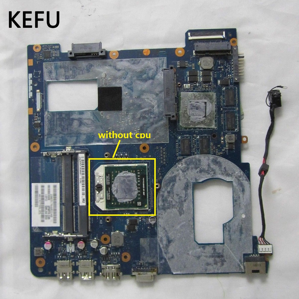 KEFU High quality QMLE4 LA 8863P For Samsung NP355V5C 355V5C Laptop Motherboard BA59 03401A Socket FS1