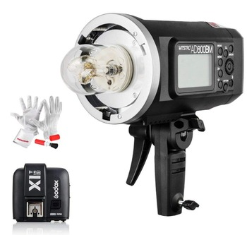 Godox AD600BM 600W HSS 2.4G GN87 Portable Bowens Wireless Outdoor Flash Light + X1T-C Transmitter Trigger for C/ N/ S CD50Y