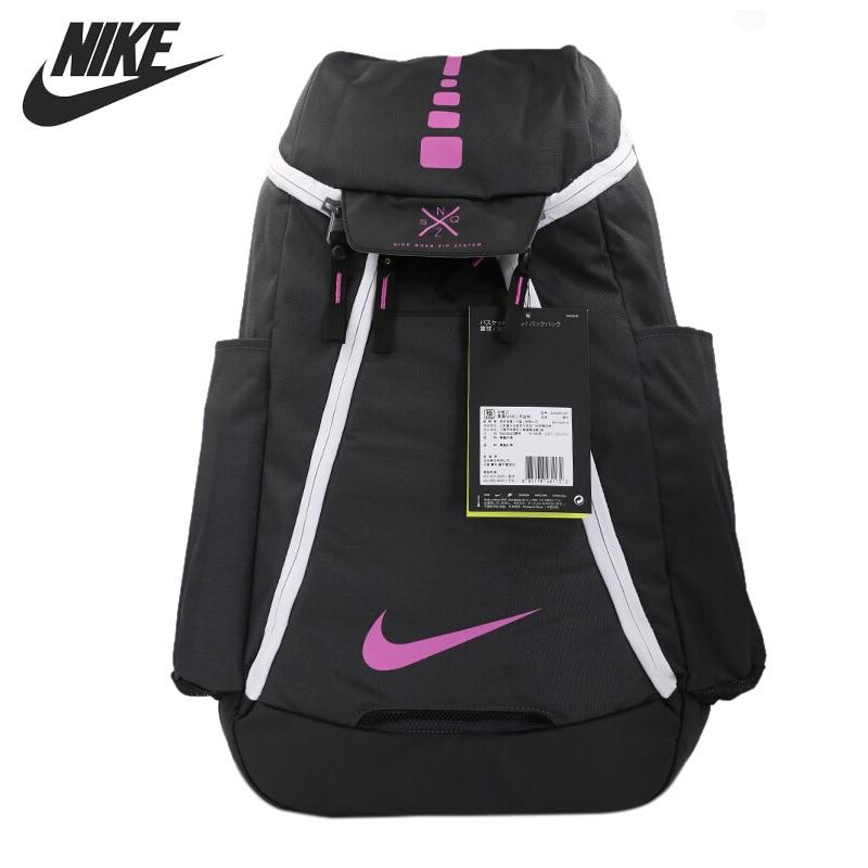 все цены на Original New Arrival 2017 NIKE NK HPS ELT MAX AIR BKPK-2.0 Unisex Backpacks Sports Bags онлайн