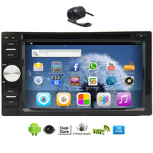 Android 5.1 Radio Touch Screen CAM 6.2″ Car DVD HeadUnit GPS Video Receiver Mirror Link Audio System RDS APP Stereo