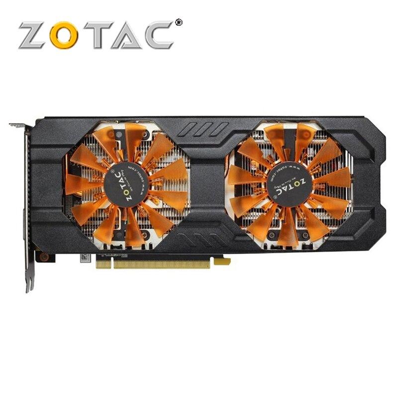 ZOTAC Carte Vidéo GeForce GTX 760 2 GB 256Bit GDDR5 Cartes Graphiques pour nVIDIA GK104 Carte Originale GTX760 GTX760-2GD5 Hdmi dvi