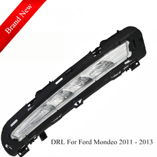 Daytime Running Light For Ford Mondeo 2011 2012 2013 Waterproof Super Bright Best Quality Wholesale Price Fast Delivery
