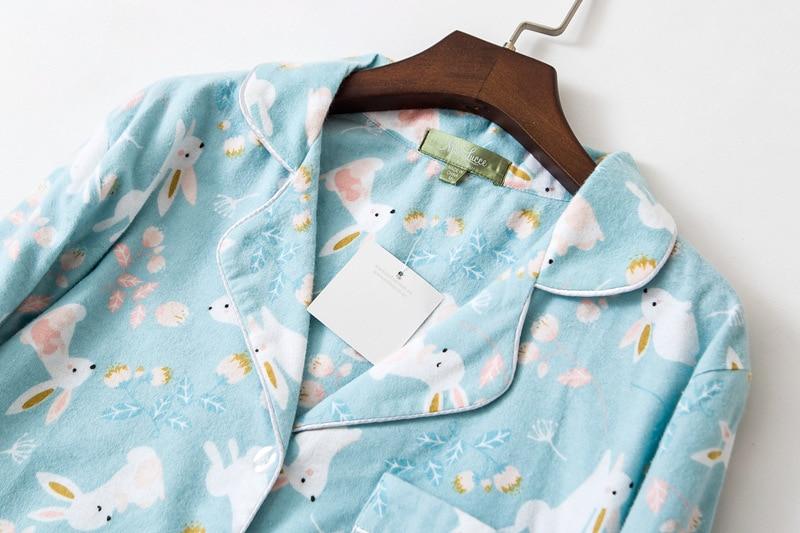 Image 3 - Long Nightgowns Slumber Skirt Plus Size Nightdress Long Sleeved 100% Cotton Sleepshirts Ladies Women Sleepwear Femme DressNightgowns & Sleepshirts   -