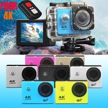 F60R sports DV digital camera HD 4K outdoor camera waterproof camera with remote control WIFI free shipping