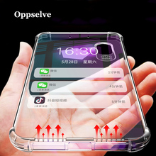 Luxury Shockproof Bumper Transparent Silicone Phone Case For iPhone X XS XR Max 8 7 6 S Plus Clear Protection Back Cover Capa