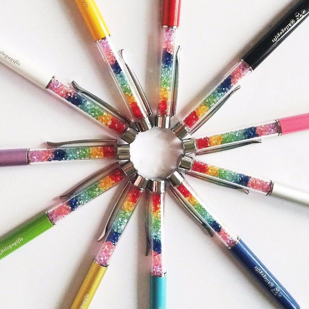 Ofis ve Okul Malzemeleri'ten Başlık Kalemleri'de Logo kalem kişiselleştirilmiş hediyelik eşyalar ticaret fuarı için güzel kristal kalemler özel kazınmış ücretsiz marka ve logo tasarımı'da  Grup 1