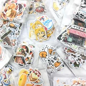 1 Bag Cute Cartoon Korean Style Decorative Stickers Adhesive Stickers Scrapbooking DIY Decoration Diary Stickers