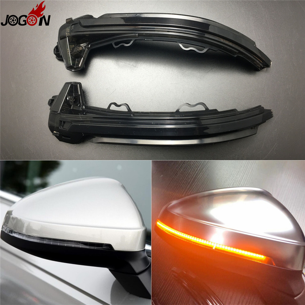 LED Side Wing Rearview Mirror Indicator Blinker Repeater Turn Signal Light For Audi A4 S4 RS4 B9 2016 2017 & A5 S5 RS5 2017 cafoucs car door wing rearview mirror led turn signal light side indicator lamp for audi a4 b8 a6 c6 a3 a5 a8 q3 2008 2011