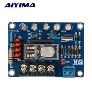 Image 2 - AIYIMA 2Pcs Audio Speakers Protect Board Mono UPC1237 Speaker Protection Board AC9 16V Mirror Symmetrical Circuit