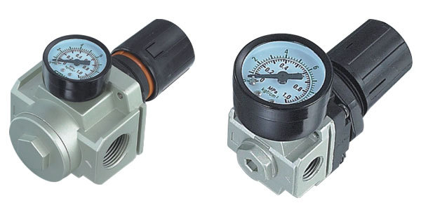 SMC Type pneumatic High quality regulator AR1000-M5 high quality double acting pneumatic gripper mhy2 25d smc type 180 degree angular style air cylinder aluminium clamps