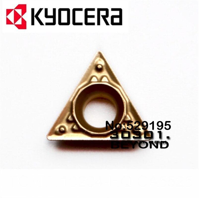 Kyocera TCMT110204-HQ TCMT110208-HQ CA5525 10pcs Carbide Inserts TCMT 110204 110208 Lathe Cutter Tools Turning Tool Holder CNC