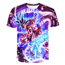 New Arrival  Dragon Ball Z Ultra Instinct Goku Super Saiyan Men Tshirt Casual 3D Printed Summer Funny t shirt