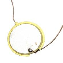 Элементы 27 мм триггер пьезоэлектрический барабан диск Динамик пьезо элементы эхолот сенсор тональные инструменты круглый керамический струна