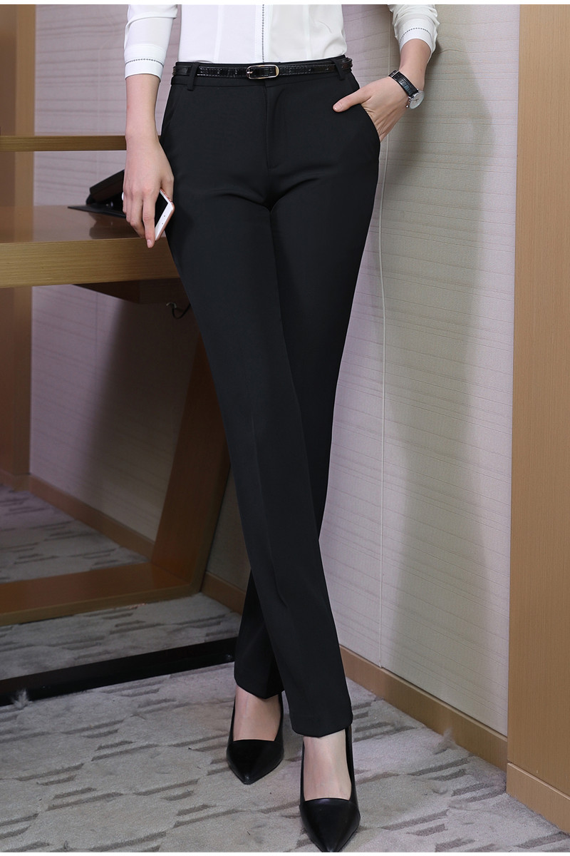 HTB1l0NgSVXXXXajXpXXq6xXFXXXZ - Naviu new Fashion high quality women trousers Plus Size Formal office Pants for Office Lady Style Straight bottom