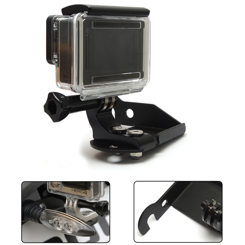 R1200GS Front Bracket for Go Pro for BMW R1200GS Adventure F650GS F800GS S1000R R1200GS LC 2013 2014 2015 Motorcycle Parts акрапович для бмв r1200gs 2013