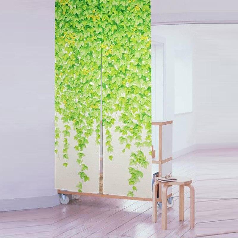 cortina para cozinha para porta verde