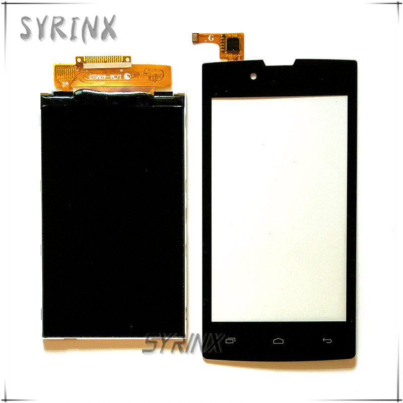 Syrinx 4.0 Mobile Phone LCDs Touchscreen For Beeline smart 6 smart6 Lcd Display Touch Screen Digitizer Panel Front Glass Sensor